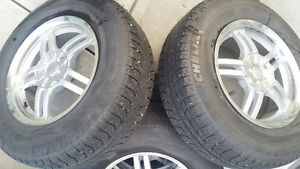 Winter tires on good condition rims Campbell River Comox Valley Area image 2