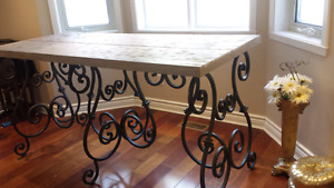 Beautiful table in fer forger West Island Greater Montréal image 8