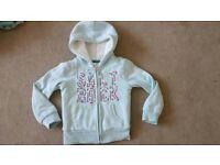 Salt Rock light blue hoodie 3-4yrs