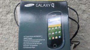Samsung Galaxy Q cell phone