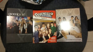 Gossip Girl and Degrassi dvds