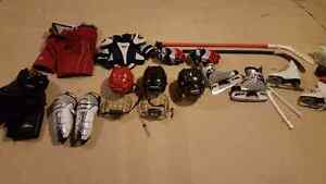 For sale hockey equipment in great condition!! Kitchener / Waterloo Kitchener Area image 1