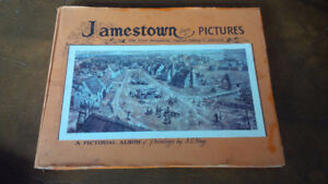 """Pictorial Album of Jamestown, """"Birthplace of America""""  1963"""