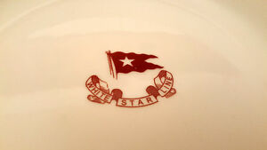White Star Line RMS Titanic china reproduction Steamship