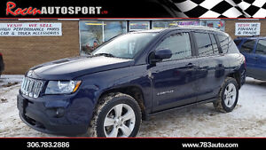 "2014 JEEP COMPASS ""NORTH EDITION"" 4X4 - LOW KMS - YORKTON"