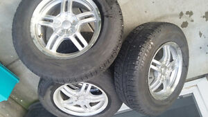 Winter tires on good condition rims