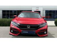 2020 Honda Civic 1.5 VTEC Turbo Sport 5dr Petrol Hatchback Hatchback Petrol Manu