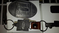 FORD Belt Bucket and Keychain