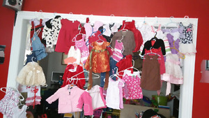TRADE BABY BOY AND GIRL CLOTHING WITH GIRL SIZE 4, 5, 6