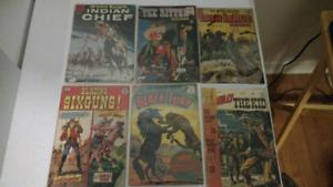Old western comics
