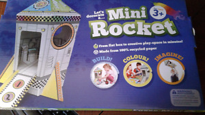 Decorate mini rocket