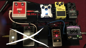 Amps, Pedals, Board, Power