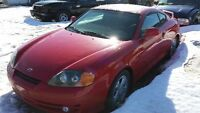 2003 HYUNDAI TIBURON 5 SPEED