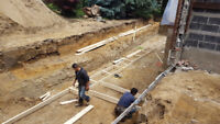 FOOTINGS, FOUNDATION, AND WATERPROOFING SERVICES