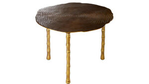 Bronze Coffee/Side Table NEW from CB2 for $ 320