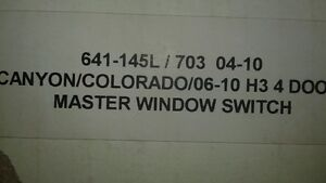 2006-2010 Colorado or Canyon NEW window switch