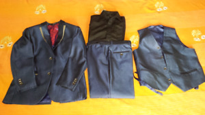 4 Piece Boys fancy suit age 10  to 14 year for sale