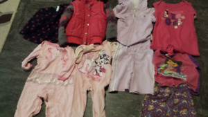 Girls clothes 2-4t