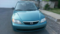 REDUIT!!! 2002 Mazda Protege LX Sedan - Super Clean, 1 Owner