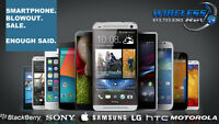 SMARTPHONE BLOWOUT SALE - IPHONE, SAMSUNG, NOKIA, HTC, LG