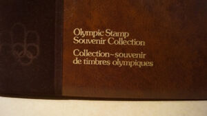 OLYMPIC STAMP SOUVENIR COLLECTION