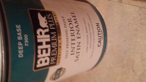 Brand New. Never opened. Behr Blue paint
