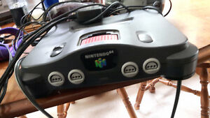 nintendo with two controllers