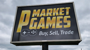 PMARKET GAMES HAS THE LARGEST VINTAGE GAMING SELECTION AROUND!
