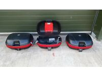 GIVI wing rack and panniers