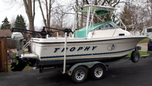 2050Trophy boat and trailer for sale 1999