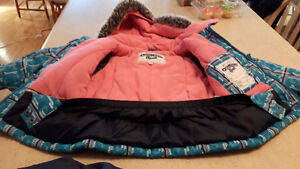 3T girl's Oshkosh Snowsuit EUC winter jacket coat snowpants Peterborough Peterborough Area image 2