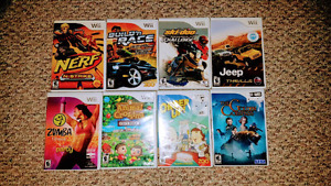 8 games for WII