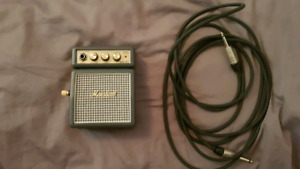 Marshall MS2 Guitar amp micro + fil + Adapteur