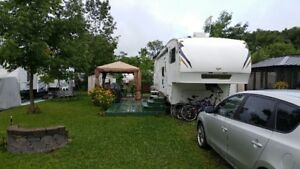 Roulotte / Fifth wheel / Camping Mirabel