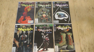 Batman - New 52 issues #13-18 (Death of the Family storyline)
