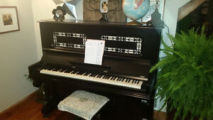 VINTAGE STAND UP PIANO