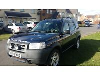 For sale Freelander petrol / selling to buy small convertable