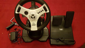 InterAct Concept4 Wheel And Pedals for Dreamcast -- $40 OBO