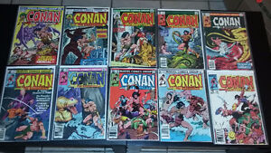 For Sale: Lot of Marvel Comics Conan the Barbarian