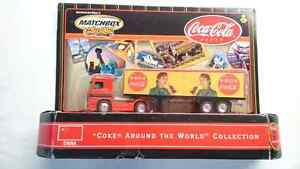 "MATCHBOX ""COKE AROUND THE WORLD COLLECTION"" SEMI TRUCK CHINA"