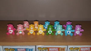 Care Bears Mini Figures Lot of 13