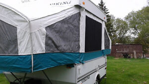 For sale 2003 Viking hard top trailer