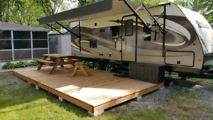 Roulotte 24 pieds Kodiak 240BHSL 2015 bunked bed