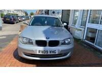 BMW 118 2.0TD Manual 2009 ES 5 Doors Smooth Drives 1 Year MOT £30 Road Tax
