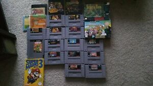 SNES AND NES GAMES FOR SALE