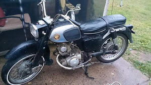 Looking for Parts for a 1966 Honda Benly (C95/CA95)