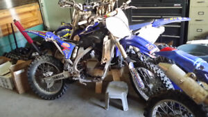 Parting Out 2008 YZ450F