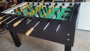 Foosball table game