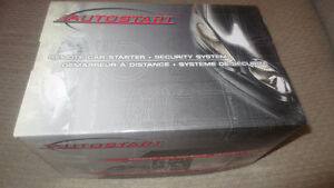 New Autostart Car Starter & Security Alarm Combo Model AS-6270