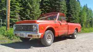 1972 c10 chevy project truck